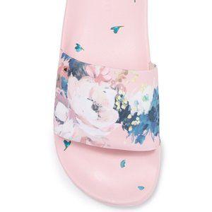 NWT Ted Baker Light Pink Avelini Slider Sandal